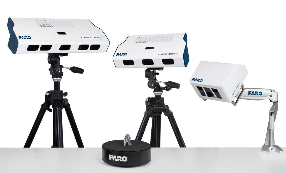 Los nuevos FARO Cobalt Design Structured Light Scanners llevan el escaneo 3D de alta precisión a cualquier nivel de usuario.