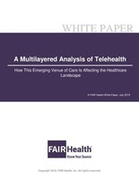 A Multilayered Analysis of Telehealth - A FAIR Health White Paper July 2019