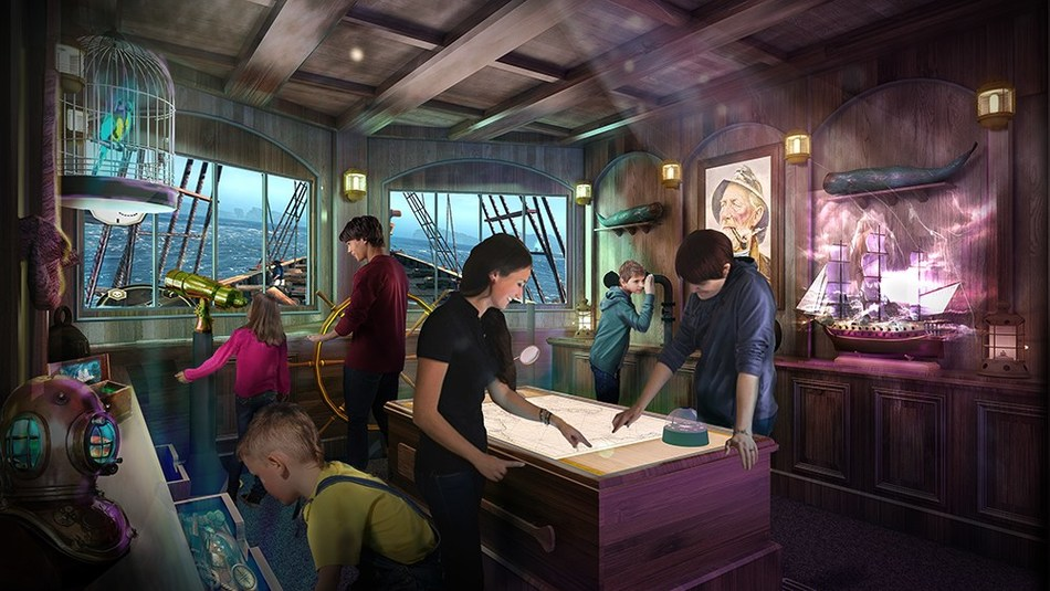 Princess Cruises will debut the world's first Phantom Bridge Mediascape(TM) Room onboard Sky Princess