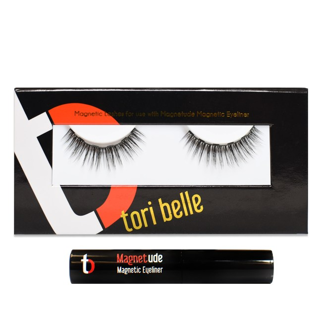 Tori Belle Cosmetics Patent Pending Magnetude Magnetic Eyeliner and Lash System