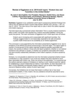"""The American Kratom Association Strongly Endorses Dr. Jack Henningfield's Review That Questions The Conclusions Related To Kratom Safety In The Eggleston Et Al. Brief Report On """"Kratom Use And Toxicities In The United States"""""""