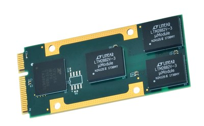 Shown: AcroPack AP513 Four-Port Isolated RS232 Serial I/O Module