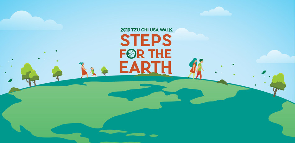 "2019 Tzu Chi US WALK - ""Steps for the Earth"" Walk, Bike or Run for the Earth!"