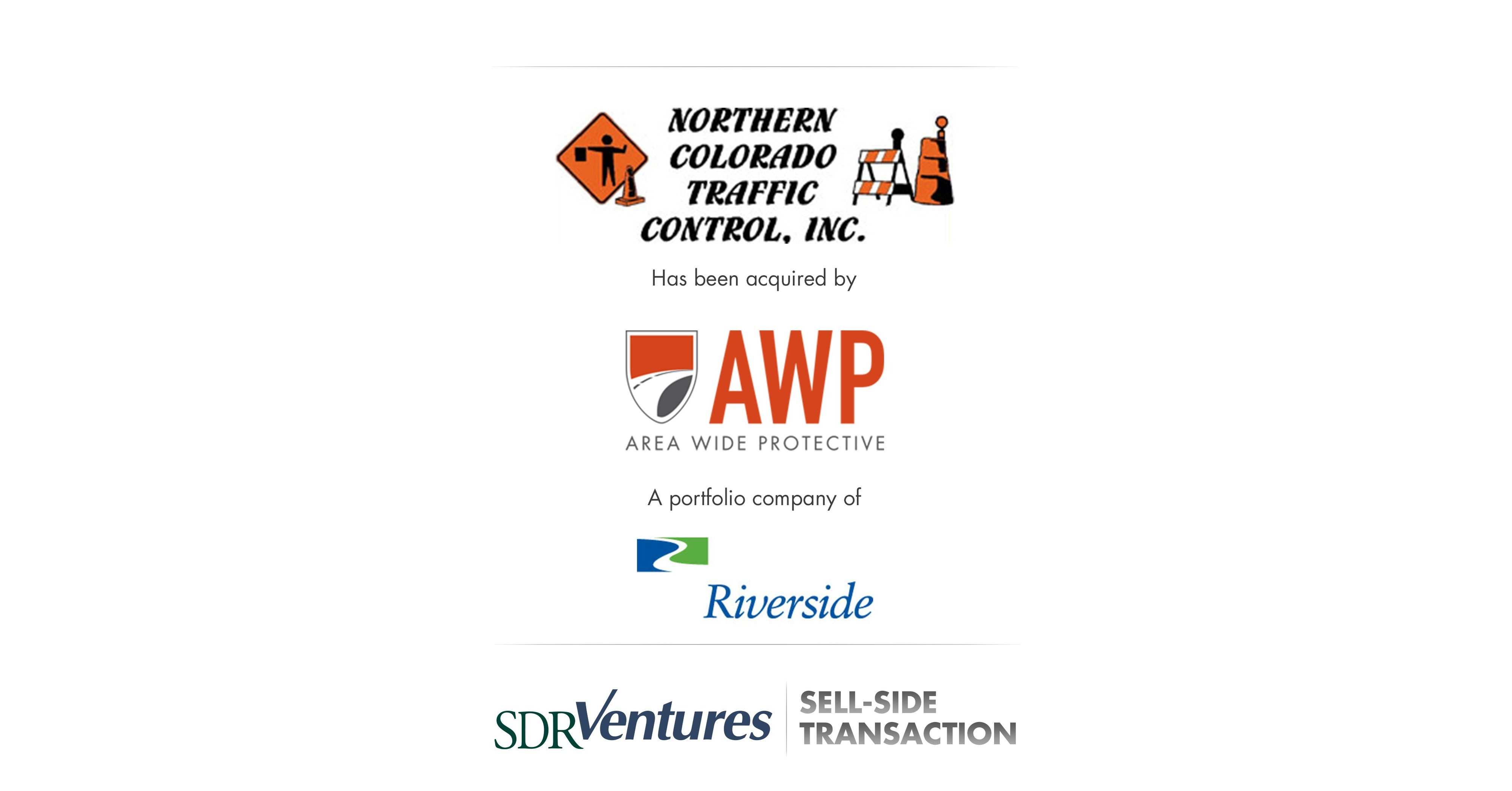SDR Ventures Advises Northern Colorado Traffic Control on