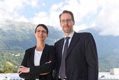 Markus Kittler, academic director of the PhD program, and Susanne E. Herzog, head of MCI Executive Education, are delighted about the confirmation by the AQ Austria.