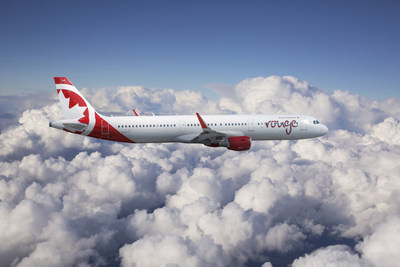 A321 d'Airbus d'Air Canada Rouge. (Groupe CNW/Air Canada)