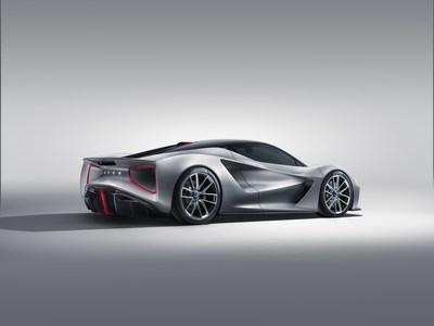 路特斯推出世界最强动力量产电动跑车Evija