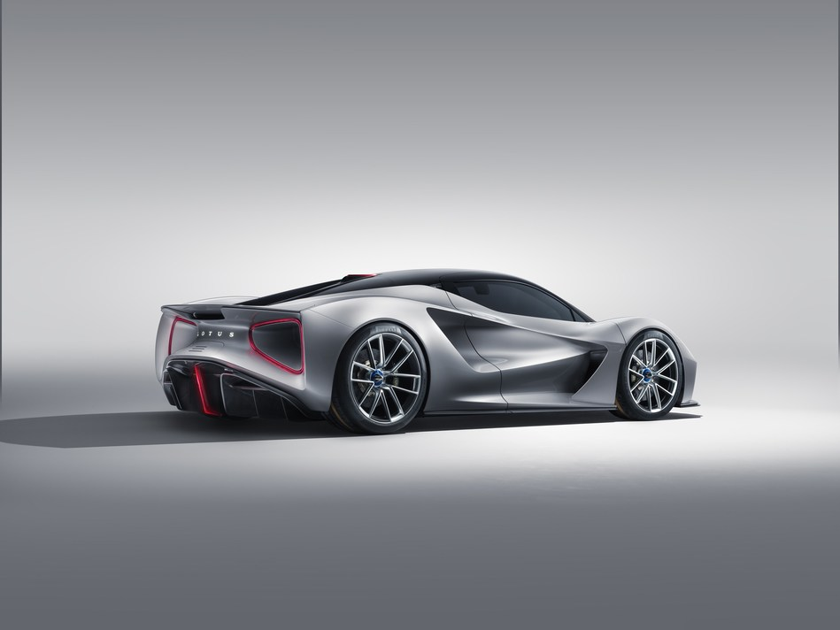 Resurgent British sports car maker Lotus has unveiled the Evija, the world's first all-electric British hypercar. With a target output of 2000 PS, it is the world's most powerful series production road car. It has been designed and engineered in the UK, and will be produced at Hethel, UK, the home of Lotus since 1966. A technical tour de force, the Evija is illustrative of the innovative thinking and ingenuity that has always been part of the Lotus DNA.