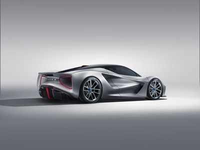 Evija: Lotus Unveils World's Most Powerful Production Car