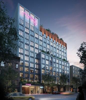 盛石为纽约东村万豪Moxy酒店募资7000万美元 | 1分3D-5分3D计划