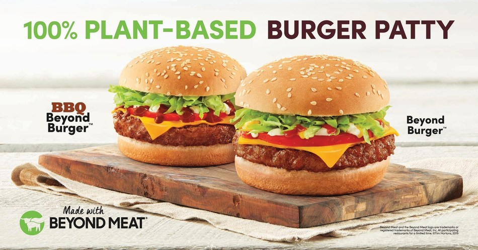 Tim Hortons® to offer NEW Beyond Burgers™ at nearly 4,000 restaurants nationwide (CNW Group/Tim Hortons)