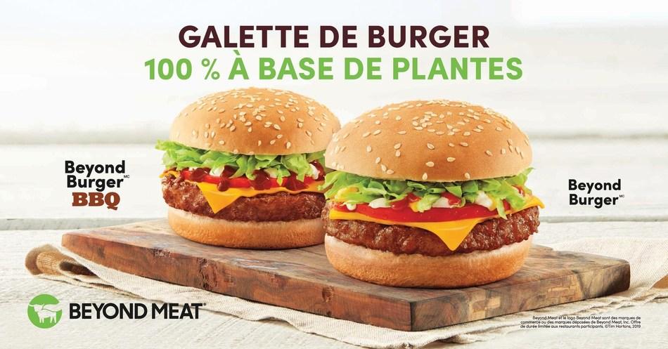 Tim Hortons® lance les NOUVEAUX sandwichs Beyond Burger(MC) dans près de 4 000 restaurants à travers le pays (Groupe CNW/Tim Hortons)