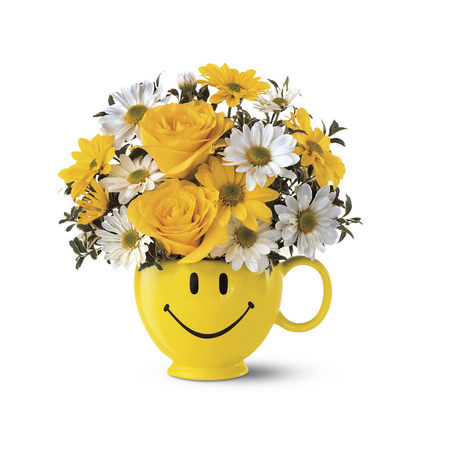 Teleflora Be Happy® Bouquet Honors 19th Annual Make Someone Smile Week