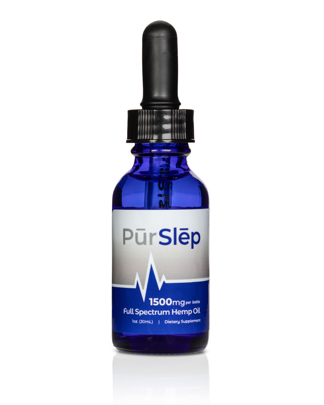 PurWell disrupts the sleep industry with PurSlep, a Custom Formulated CBD Full-Spectrum Hemp Oil