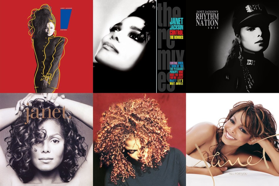 Janet Jackson Takes Full 'Control' Of Her Vinyl Legacy.  The Latest Rock & Roll Hall Of Fame Inductee Welcomes Six Entries From Her Groundbreaking A&M and Virgin Catalog, Coinciding With 'Metamorphosis' Las Vegas Residency:: Control The Remixes, Rhythm Nation 1814, janet., The Velvet Rope, and All For You will be released on vinyl on July 26. Fans can preorder Janet Jackson's reissued vinyl catalog here: https://ume.lnk.to/JanetJacksonVinylPR