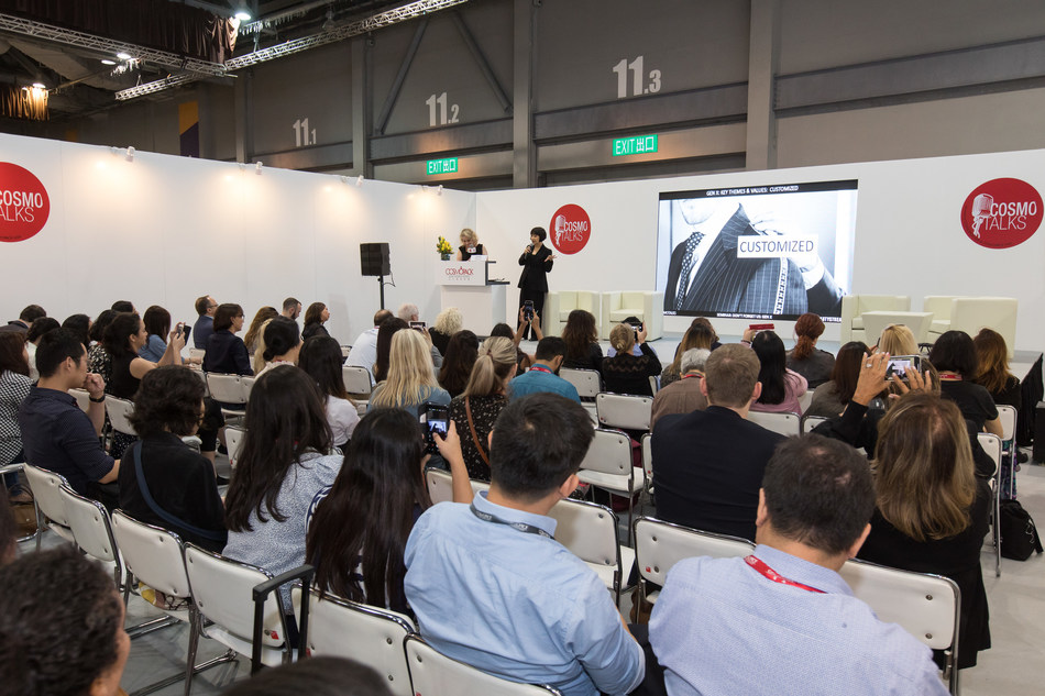 Cosmotalks is a series of presentation and roundtable discussion focusing on the latest issues in the beauty industry.