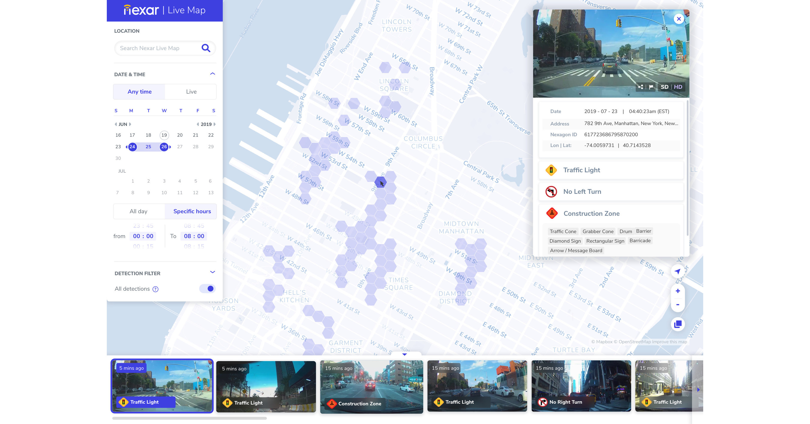 Nexar Launches Live Map, Taking On Google Street View