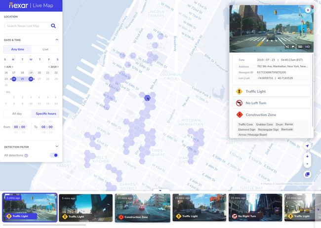 Nexar Launches Live Map Taking On Google Street View