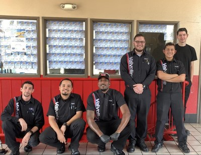 Valvoline Instant Oil Change employed with their Wall of Generosity in Upland, CA!