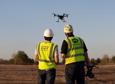 PCL Construction and 3DR sign multiyear drone software agreement for unlimited use of Site Scan on PCL projects.
