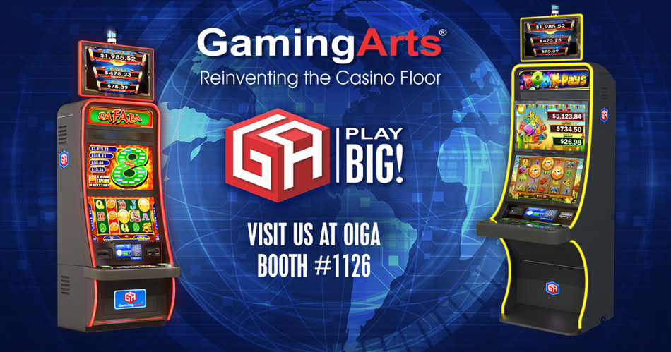 Gaming Arts to present Class III Video Reels and Super PROMO at OIGA 2019 in Tulsa, Oklahoma.