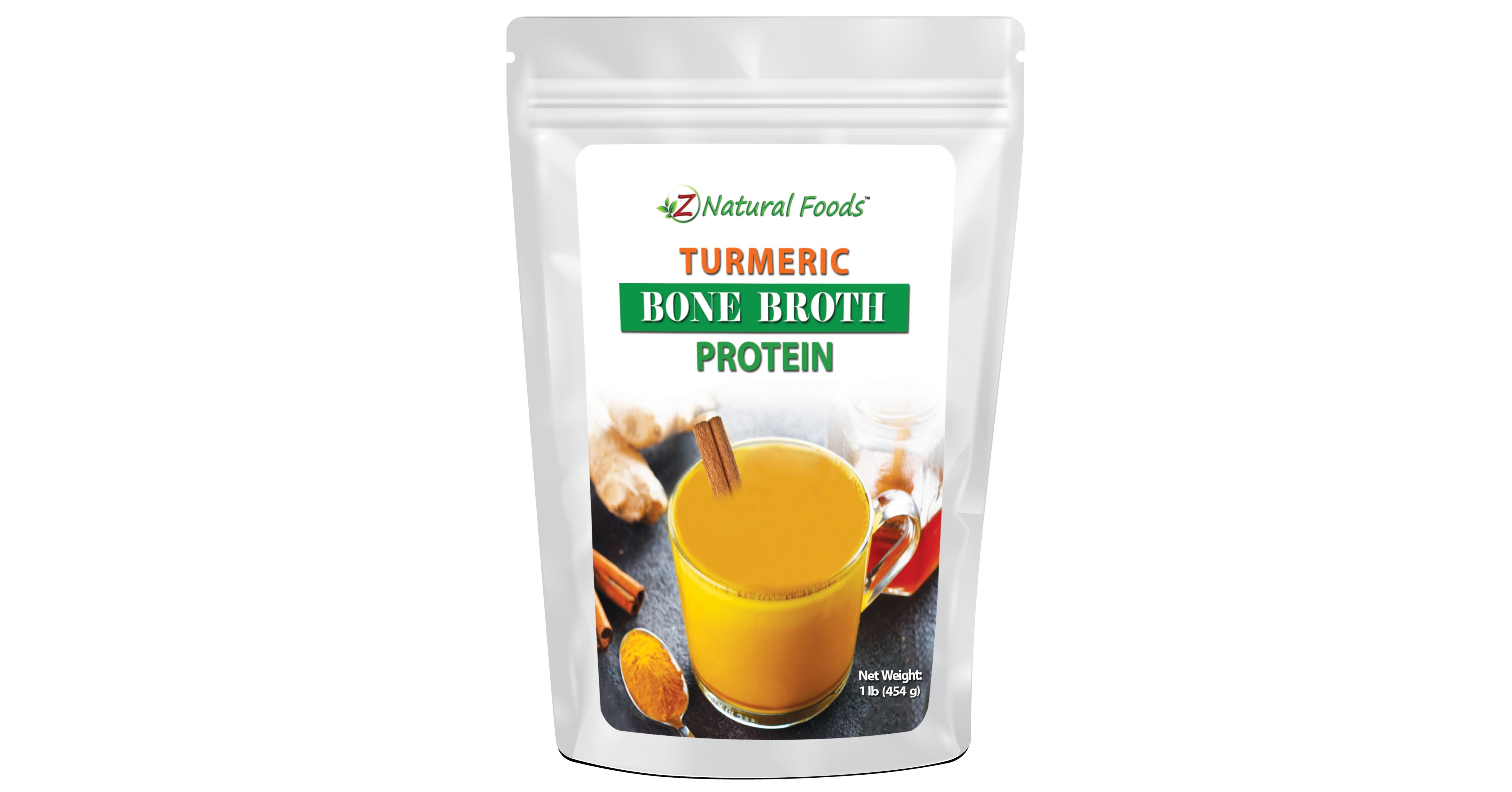 Z Natural Foods Releases New Turmeric Bone Broth Protein