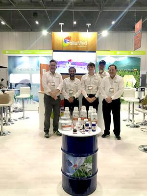 FoliuMed launching CBD products at CBD Europe Expo (PRNewsfoto/Spring Capital)