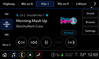 SiriusXM with 360L experience available in all-new Cadillac XT6