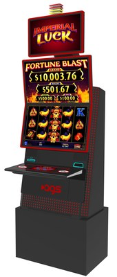 AGS will showcase its new Orion Upright slot cabinet at the Oklahoma Indian Gaming Trade Show July 22-24 in Tulsa.