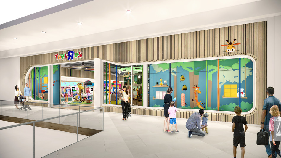 """The new Toys""""R""""Us stores set to return to the U.S. this holiday season. Photo Credit: Courtesy Toys""""R""""Us®"""
