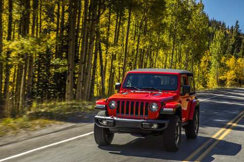 2019 Jeep® Wrangler named Kelley Blue Book's Most Awarded Car of 2019