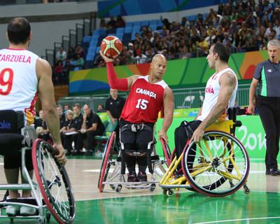Les 24 joueurs de basketball en fauteuil roulant qui iront à la conquête de l'or pour le Canada aux Jeux parapanaméricains de Lima 2019, le mois prochain, sont sélectionnés. PHOTO : Comité paralympique canadien (Groupe CNW/Canadian Paralympic Committee (Sponsorships))