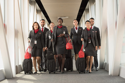 Air Canada nommée parmi les 50 lieux de travail les plus engagés pour une quatrième année consécutive (Groupe CNW/Air Canada)