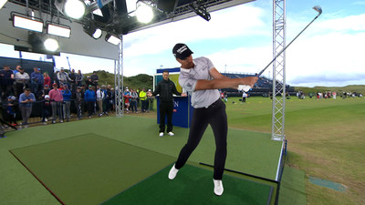 Nick Dougherty takes a look at Henrik Stenson from all angles in the Sky Open Zone