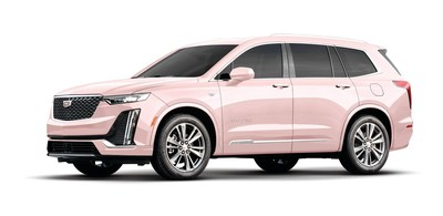 Mary Kay unveiled the newest addition to its coveted career car fleet at the company's annual U.S. Seminar—the pink Cadillac XT6.