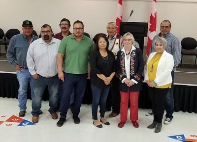 Le Canada et les Premières Nations signataires des traités nos 4 et 6 soulignent le règlement de revendications particulières (Groupe CNW/Relations Couronne-Autochtones et Affaires du Nord Canada (RCAANC))