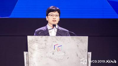 O discurso de abertura de Kwon Hyuk Bin, presidente do comitê do WCG
