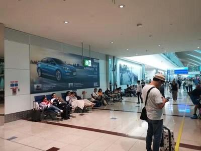 Anuncios de Chery en el aeropuerto de Dubái llegan al mundo con nueva imagen automovilística de China