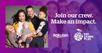 Rakuten Teams Up with Stephen & Ayesha Curry's Eat. Learn. Play. Foundation to Improve Children's Lives