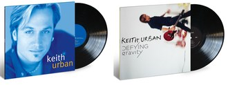 """As country superstar and 2019 CMA and ACM Entertainer of the Year Keith Urban continues his summer North American """"Graffiti U World Tour,"""" two of his acclaimed albums, """"Keith Urban"""" and """"Defying Gravity,"""" will be released on vinyl on September 13 via Capitol Nashville/UMe."""