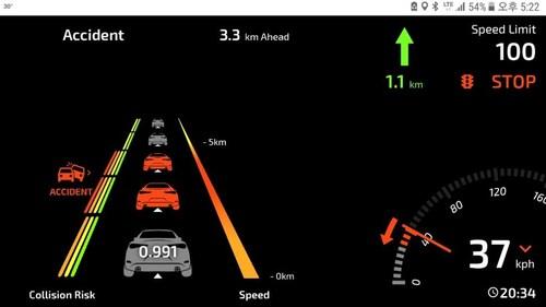 BlueSignal's traffic prediction solution