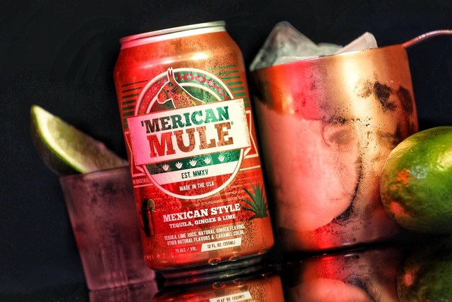 Ready-to-drink Mexican Style Mule by 'Merican Mule