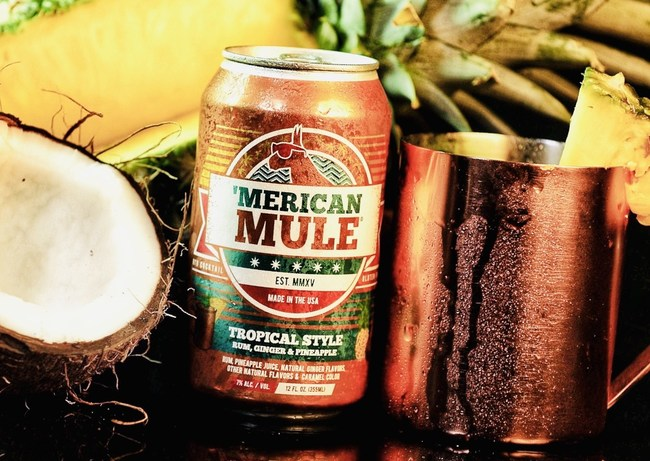 Ready-to-drink Tropical Style Mule by 'Merican Mule