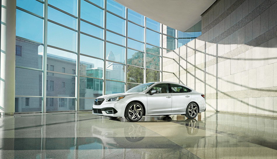 Subaru's EyeSight driver-assist system and LED headlights are now standard on all 2020 Legacy models. (CNW Group/Subaru Canada Inc.)