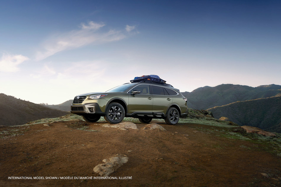 All-new Outdoor XT model the most off-road-ready Subaru Outback to date. (CNW Group/Subaru Canada Inc.)