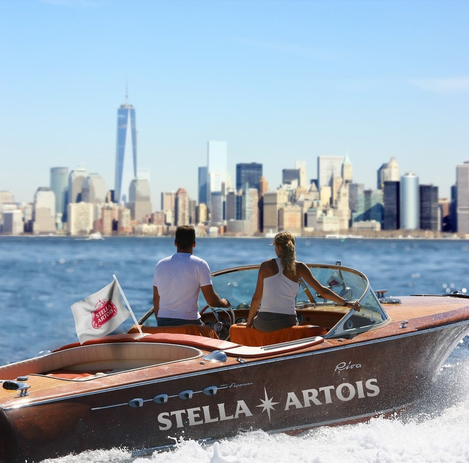 Stella Artois is injecting vacation vibes into the evening commutes of New Yorkers by offering them a once in a lifetime opportunity to ride on the East River Riviera from Tuesday, July 30 to Friday, August 2. Beat the heat and book a spot on the vacation-worthy European Riva boats before they're gone!