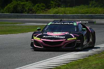 Trent Hindman and the Meyer Shank Racing team captured their third pole of the season this morning in qualifying at Lime Rock Park for this afternoon?s Northeast Grand Prix IMSA WeatherTech SportsCar Championship race. Hindman and co-driver Mario Farnbacher lead the IMSA GTD championship in their Acura NSX GT3 Evo.