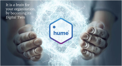 Hume - it's a brain for your organization, a graph-powered digital twin.