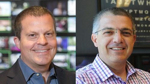 Left: Pete Thompson, Senior Vice President and Chief Product Officer, eBay; Right: Mazen Rawashdeh, Senior Vice President and Chief Technology Officer, eBay