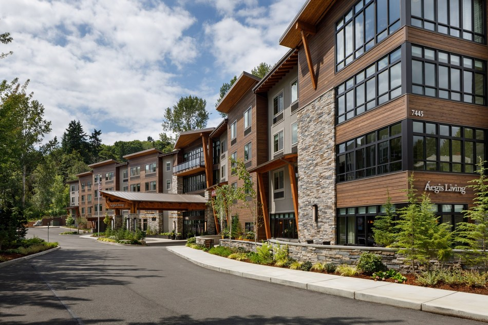 Aegis Living Mercer Island opens, offering senior assisted living and memory care.